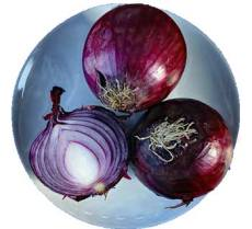 Onion in dreams - Peeling off layers to get to the truth. Crying to get your attention.