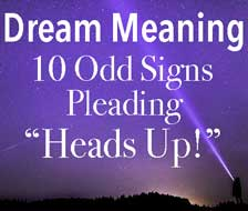 Dream Meaning for 10 Curious Omens Telling You To Pay Attention