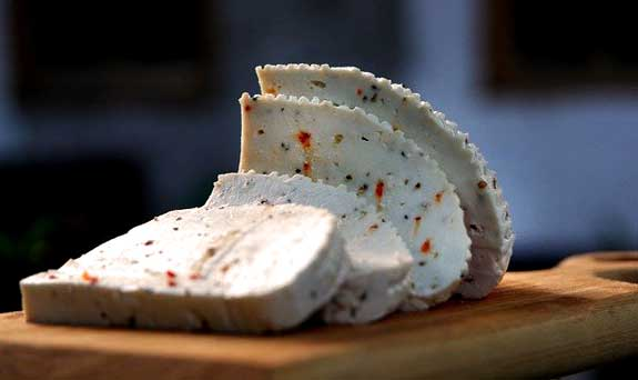 Raw goat cheese-Great as a digestive aid in a healing diet to help reduce anxiety.